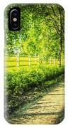 Green Gallop IPhone Case