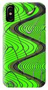 Green Grass Behind The Fence IPhone Case