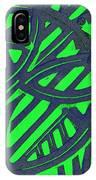 Green Grate IPhone Case
