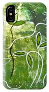 Green Growth IPhone Case