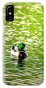 Green Head IPhone Case