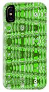 Green Heavy Screen Abstract IPhone Case