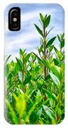 Green Hedge IPhone Case