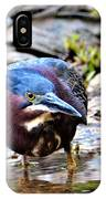Green Heron Male IPhone Case