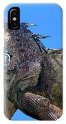 Green Iguana IPhone Case