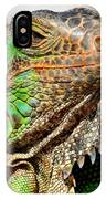 Green Iguana Series IPhone Case