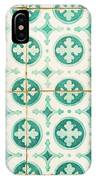 Green Lucky Charm Lisbon Tiles IPhone Case