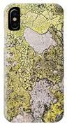 Green Moss On Rock Pattern IPhone Case