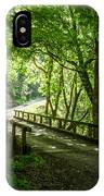 Green Nature Bridge IPhone Case