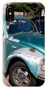 Green Old Vintage Volkswagen Car IPhone Case