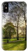 Green Park London IPhone Case