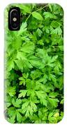 Green Parsley 1 IPhone Case