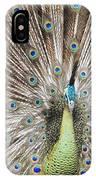 Green Peacock IPhone Case