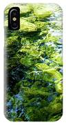 Green Reflection IPhone Case