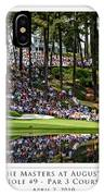 Green Reflections Par 3 Hole 9 IPhone X Case