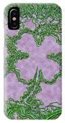 Green Ribbon Shamrock IPhone Case