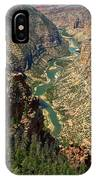 Green River Carving Canyon IPhone Case