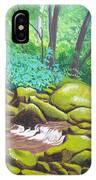 Green Rocks IPhone Case