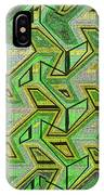 Green Steps Abstract IPhone Case