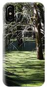 Green Swamp Near Camps Canal IPhone Case