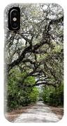 Green Swamp Oak Bower IPhone Case