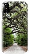 Green Swamp Tunnel IPhone Case