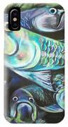 Green Tarpon Collage IPhone X Case