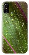 Green Ti Leaves IPhone Case