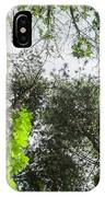 Green To The Sky IPhone Case