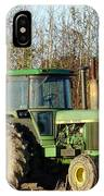 Green Tractor IPhone Case