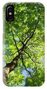 Summer Tree Canopy IPhone Case