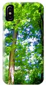 Green Trees 1 IPhone Case