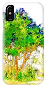 Green Trees By The Lake IPhone Case