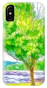 Green Trees By The Water 3 IPhone Case