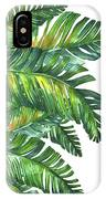 Green Tropic  IPhone Case