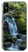 Green Waterfall IPhone Case