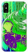 Green Whirl IPhone Case