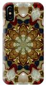 Green White Red Blue Kaleidoscope 1 IPhone Case