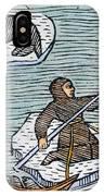 Greenland Eskimos, 1555 IPhone Case