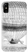 Greens Balloon, 1857 IPhone Case