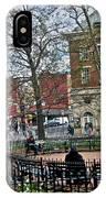 Greenwich Village New York City IPhone Case