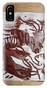 Greeting 10 - Tile IPhone Case