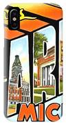 Greetings From Ann Arbor Michigan IPhone Case
