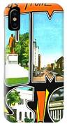 Greetings From Columbia South Carolina IPhone Case