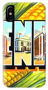 Greetings From Davenport Iowa IPhone Case