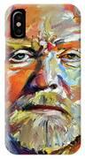 Greg  Allman Tribute Portrait IPhone Case