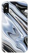 Grey And Black Metal Marbling Effect Abstract IPhone Case