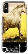 Grey Mare Galloping  IPhone Case