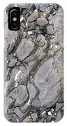 Grey Rocky Shore. IPhone Case