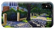 Griffith Avenue Through The Trees IPhone X Case